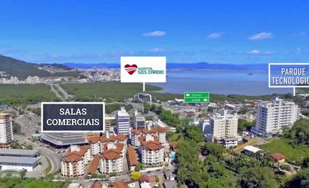Oportunidade: Salas Comerciais prontas no Itacorubi com mensais de 2 mil reais!