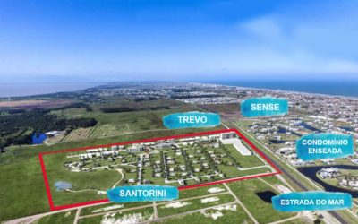 [Lançamento de LOTES] Conheça o Bairro Santorini Xangri-lá: o 1º bairro planejado do Litoral Norte
